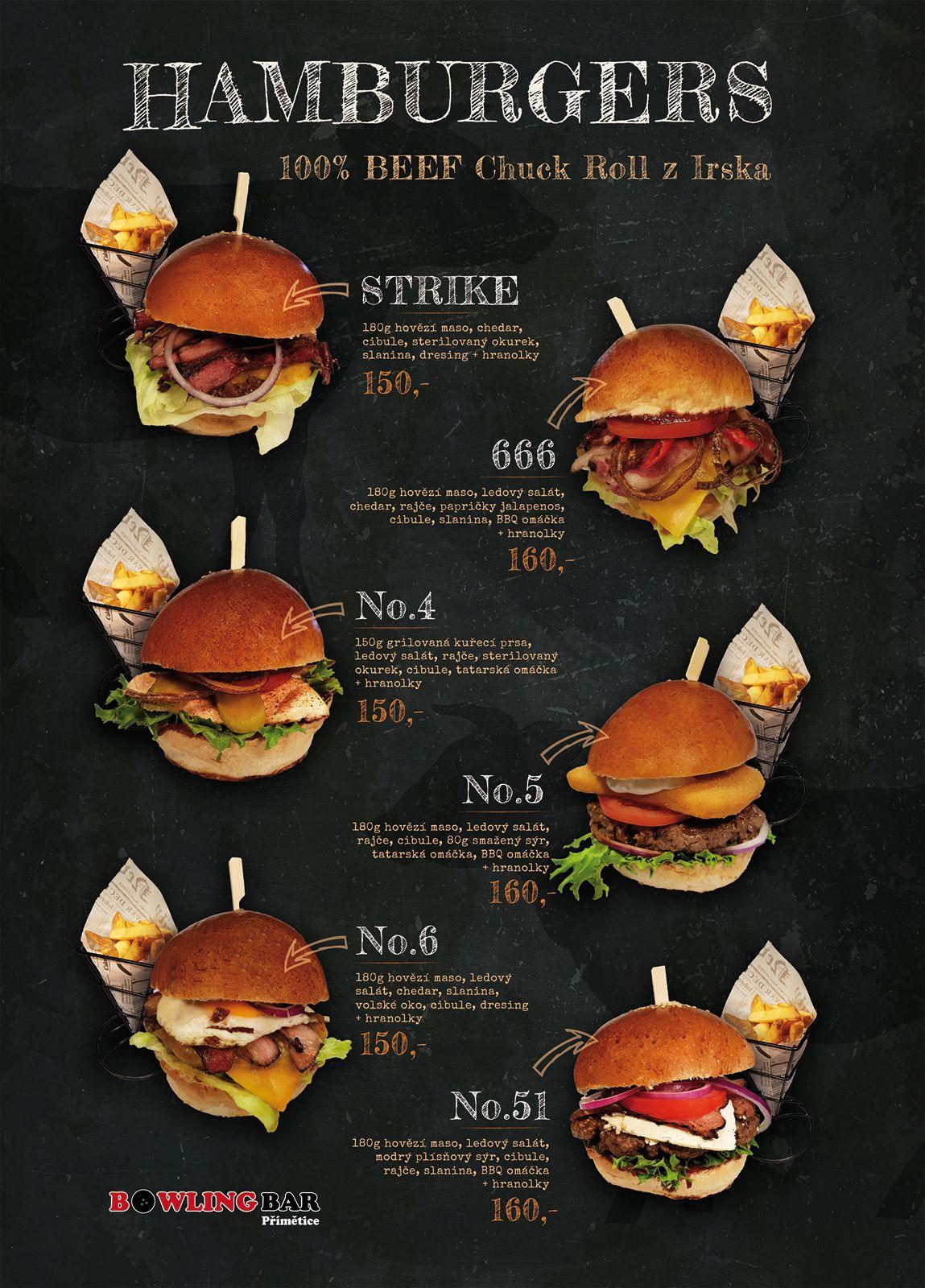NOVINKA! Hamburgery Bowlingbar Přímětice