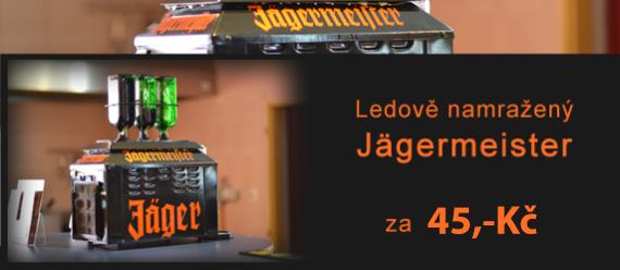 Jäger akce za 45,-Kč